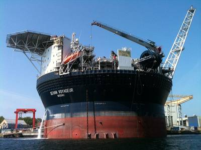 An Offshore FPSO: File photo courtesy of Sevan