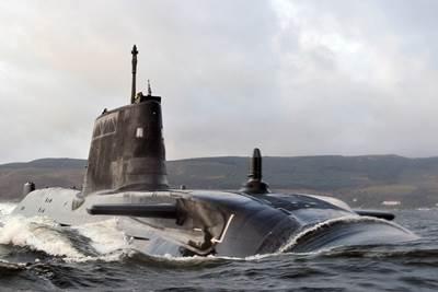 HMS Astute: Photo credit MOD