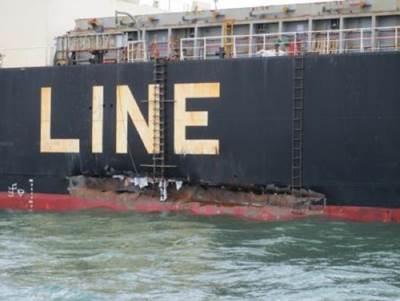 Hull damage: Photo credit USCG
