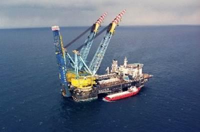 Saipem 7000 pipe-laying vessel: Photo courtesy of Gazprom