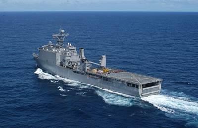 USS Pearl Harbor: Photo credit USN