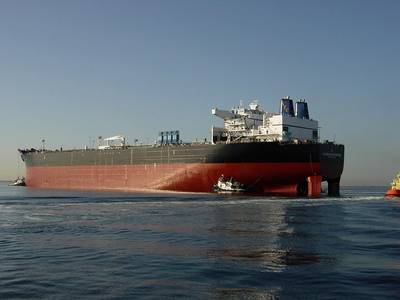 Crude carrier: Photo courtesy of Alaskan Tanker Co. Alaskan