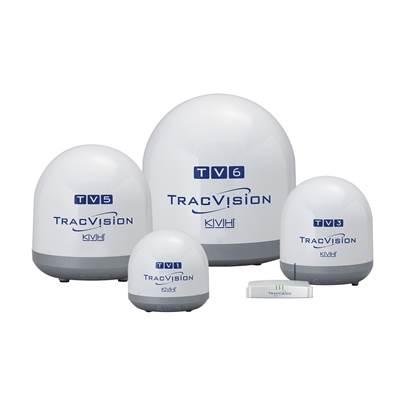 TV series antenna family:Image courtesy of KVH