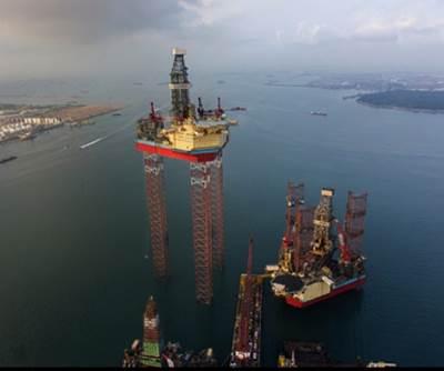 World's Largest Jack-up Rig: Photo courtesy of Maersk Drilling