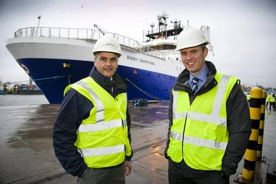 Mark Fotheringham – E+P Director (Maersk) and Barry Macleod – Managing Director UKCS (Bibby Offshore)