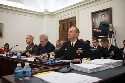 ADM Greenert at the Hearing: USN Photo