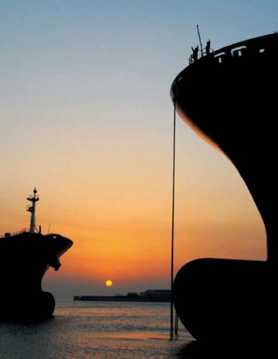 Container ship bows: File photo CCL