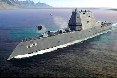 DDG1000 Rendering courtesy of USN
