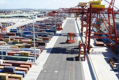 Port scene: Image courtesy of Cargotec