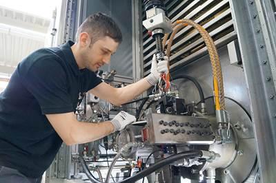 CR pump production: Photo Rolls-Royce