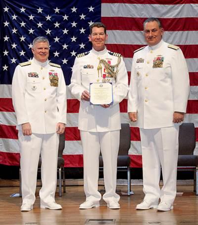 Capt. Bingaman retirement: USCG photo