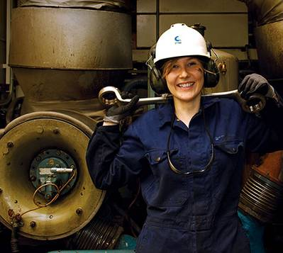 Lady engineer: File photo