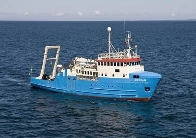 MMT´s survey and ROV vessel IceBeam