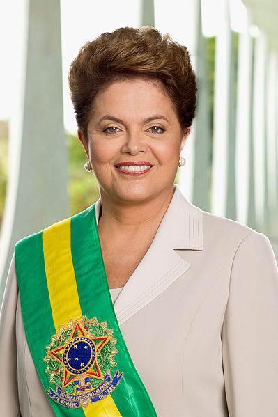 Dilma Rousseff official portrait
