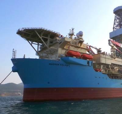 'Maersk Valiant': Photo Maersk Drilling