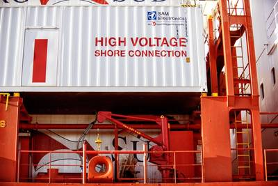 Shore power to be commissioned at Port of Hueneme