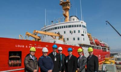 Principals in Davie Refit Contract: Image Davie