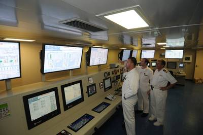Engine control room: Image courtesy of Carnival