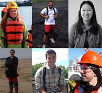 Photo (left top): Alex Dion, Alex Youngs, Rebecca Newman, (left bottom) Amanda Ketting-Oliver, Garett Weston, Christian Blakesley