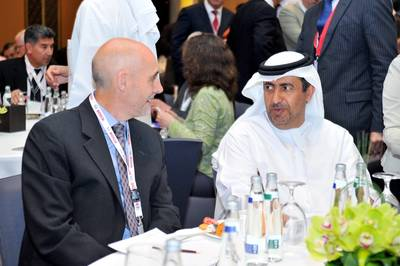 James McCallum and Mr Ali Bin Harib Al-Muhairy