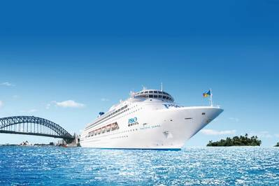 Pacific Jewel is part of the P&O Cruises' fleet of three ships currently based in Australia.