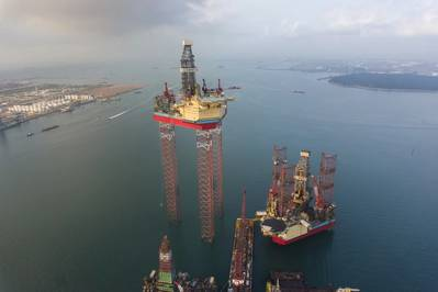 XLE offshore rig: Photo Xervo