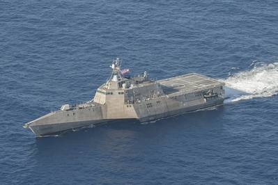 USS Coronado (LCS 4). U.S. Navy photo by Keith DeVinney