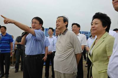 Vice-premier of China's state council, Ma Kai and Ren Yuanlin