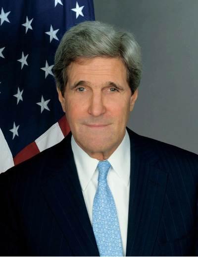 U.S. Secretary of State John Kerrylanded in Baghdad on Monday. (Photo: http://www.state.gov)