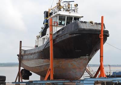 MCTAYS currently has the SMIT Tug Zeebrugge on its slipway