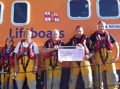 RNLI hold check for Maritime Rescue Services (Credit Maritime Museum)