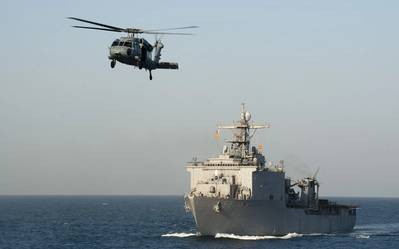 USS New Orleans: Photo USN