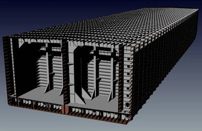 Rendering of barge structure (Image courtesy of Murray & Associates)