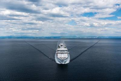 Rendering of the new cruise ship courtesy of Princess Cruises