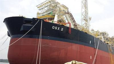 FPSO vessel OSX 2, working in conjunction with Tecnomar & Associates