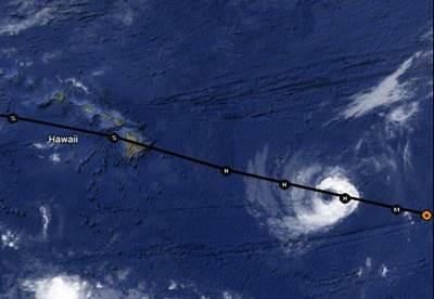 Hurricane Iselle (Image: NOAA)