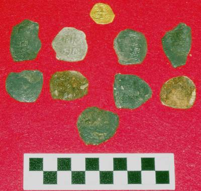 Treasures found by BWVI from 1715 Shipwreck