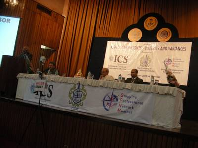 the Company of Master Mariners of India, the Institute of Chartered Shipbrokers and Shipping Professionals Network-Mumbai teamed up to focus on the recent International Maritime Organization's (IMO) initiative on container