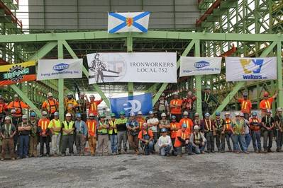 Photo courtesy of Irving Shipbuilding