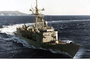 EU NAVFOR warship Canarias (Photo courtesy EU NAVFOR)