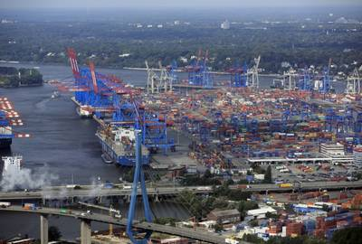 Photo courtesy of Port of Hamburg