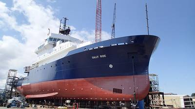 Research Vessel Sally Ride (Photo courtesy of Scripps Institution of Oceanography)