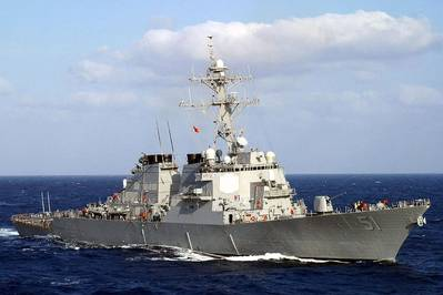 USS Arleigh Burke: Photo USN