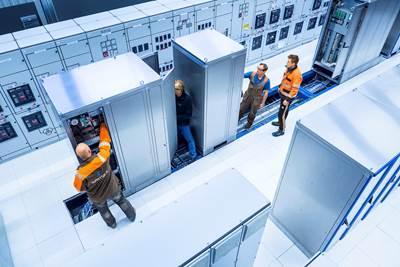 Wärtsilä's test facility is equipped to carry out full scale testing of the LLH integrated with Wärtsilä distribution system. (Photo: Wärtsilä)