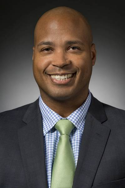 Michael Stephen Smith, corporate vice president, business growth. Huntington Ingalls Industries photo