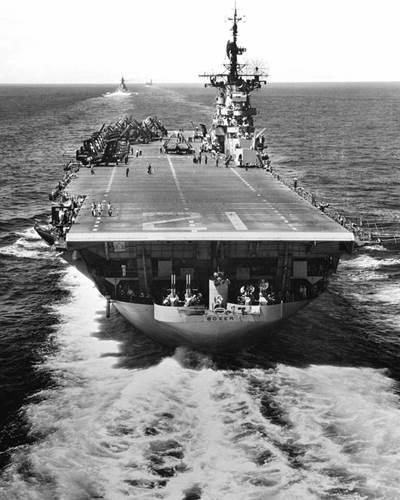 U.S. aircraft carrier USS Boxer (CVA-21). U.S. Navy photo