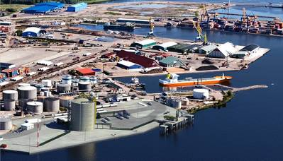 Skangass LNG Terminal to come up in  Gävle, Sweden