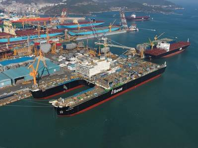 Pieter Schelte, the world's largest decommissioning and pipe laying vessel