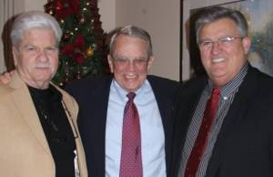 Left to right: Ray Schiller, VP, John Hutchison, Marine Sales Manager, Hal Martin, President (Photo courtesy Panel Specialists, Inc.)