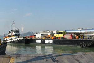 The Detroit-Windsor Truck Ferry (Photo courtesy Detroit-Windsor Truck Ferry)